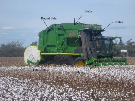 Cotton Picker Labeled